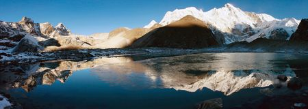 View of cho oyu Stock Images