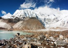 View of cho oyu Stock Photography