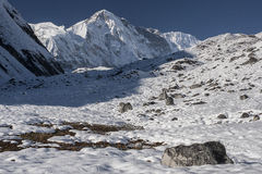 View of Cho Oyu Royalty Free Stock Images