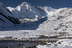 View of Cho Oyu Royalty Free Stock Photography