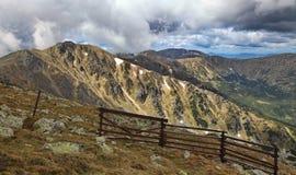 View from Chopok. Low Tatras mountains, Slovakia stock photo