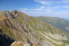 View from Chopok - Low Tatras, Slovakia Royalty Free Stock Photography