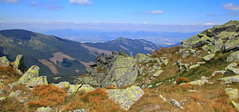 View from Chopok - Low Tatras, Slovakia Stock Image