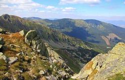 View from Chopok - Low Tatras, Slovakia Stock Photo