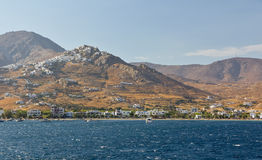 View of Chora village, Serifos island, Greece Stock Photo