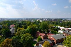 View on Chorzow, Poland. Silesia stock photography