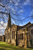 View of Christ Church in Chatburn, Lancashire. Stock Images