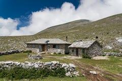 Mountain in Greece royalty free stock photo