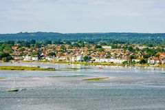 View of Christchurch town Royalty Free Stock Photos