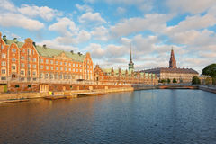 View on Christiansborg Palace in Copenhagen Stock Image