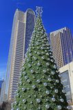 Christmas time in Downtown Dallas Stock Photos