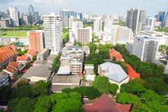 View of Chulalongkorn University, Bangkok, Thailand Royalty Free Stock Photography