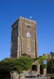 View of church Brixham Devon England UK Royalty Free Stock Photo