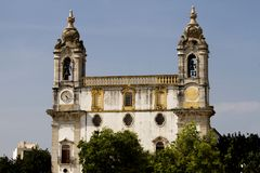 Church of Carmo. View of the church of Carmo located on Faro, Portugal Stock Photography