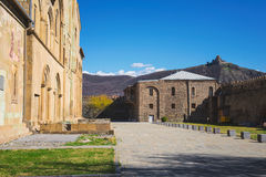 View of the Church in Geogria Stock Images