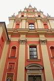 WARSAW, POLAND - MAY 12, 2012: View of the Church of the Gracious Mother of God stock image