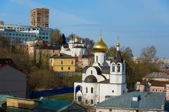 View of Church of the Icon of Our Lady of Kazan Stock Photography