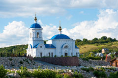 View on Church of The Kazan Icon of The Mother of God Royalty Free Stock Photo