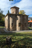 View of the church in  medieval  Zemen Monastery,  Bulgaria Stock Photo