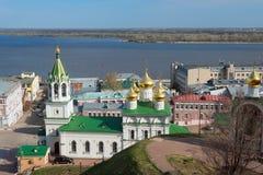 View of Church of the Nativity of John the Precursor. In Nizhny Novgorod. Russia Royalty Free Stock Photo