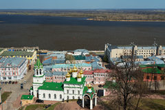View of Church of the Nativity of John the Precursor. Nizhny Novgorod, Russia - May 2, 2015: View of Church of the Nativity of John the Precursor in Nizhny Royalty Free Stock Image