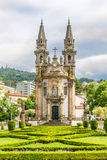 View at the church of Nossa Senhora da Consolacao in Guimaraes ,Portugal Royalty Free Stock Images