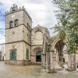 View at the church of Nossa Senhora da Oliveira in Guimaraes ,Portugal Stock Photo