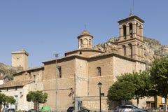 Free View Church Of Alhama De Aragón, Zaragoza, Spain......... Stock Photography - 130308782