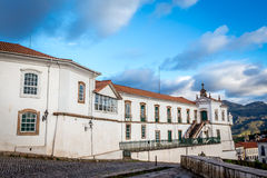 View of a church of ouro preto in minas gerais Stock Photography