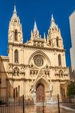 View at the church of Sacred Heart in Malaga, Spain Stock Photography