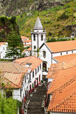 View of Church in Saint Vincent, Madeira Royalty Free Stock Photos
