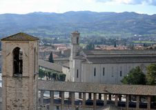 View of the Church of San Francesco Stock Image