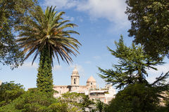 View of Church of San Giuliano in Erice Stock Photography