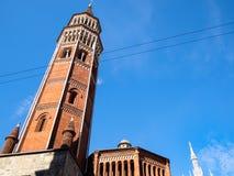 View of church San Gottardo in Corte in Milan royalty free stock photography