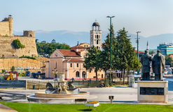 View of the Church St. Demetrius in Skopje Royalty Free Stock Image