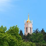 View of the Church of St. John Chrysostom in Yalta Royalty Free Stock Images