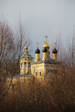 View of the church of St. Nicholas (Nikolo-Naberezhnaya). Russia. View of the embankment of the church of St. Nicholas (Nikolo-Naberezhnaya). Murom, Russia Royalty Free Stock Images