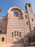 A view of Church of St. Peter in Gallicantu at Jerusalem Old cit Royalty Free Stock Image