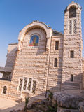 A view of Church of St. Peter in Gallicantu at Jerusalem Old cit Stock Image