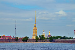 View of church  in st petersburg Royalty Free Stock Photography