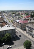 View from Church of Sts. Olha and Elizabeth Lviv Stock Images