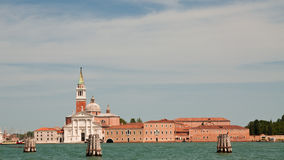 View on church in Venice Stock Images