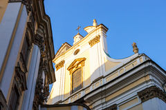 View of church in Wroclaw Royalty Free Stock Image
