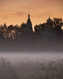 A view of churches near of moscow russia Royalty Free Stock Photos
