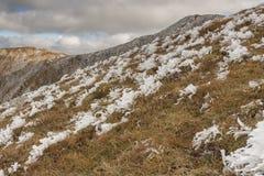 View from Ciemniak  - Tatras Mountains. Autumn day Royalty Free Stock Photo
