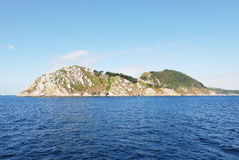 View of Cies Islands (illas cies), Spain Royalty Free Stock Photography