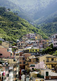 View of the Cinque Terre area italy Stock Image