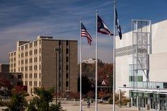 Cintas Center & Kuhlman Residence Hall - Xavier University - Cincinnati, Ohio stock images