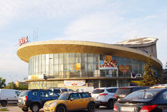 View of a Circus building in Samara city center. Stock Photography