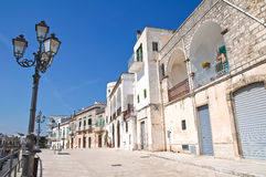 View of Cisternino. Puglia. Italy. Stock Image